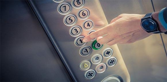 ضدعفونی آسانسور