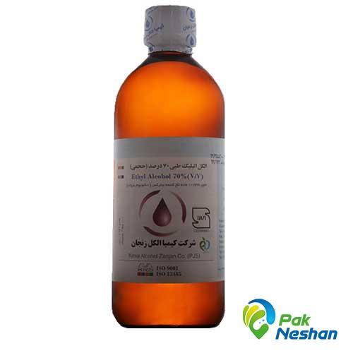 الکل طبی کیمیا الکل زنجان 70 درصد