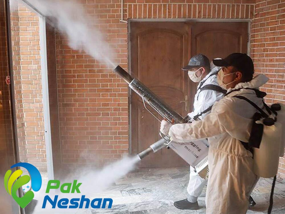 ضدعفونی با دستگاه مه پاش