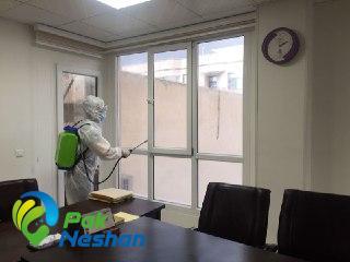 ضدعفونی منزل و محل کار از ویروس کرونا