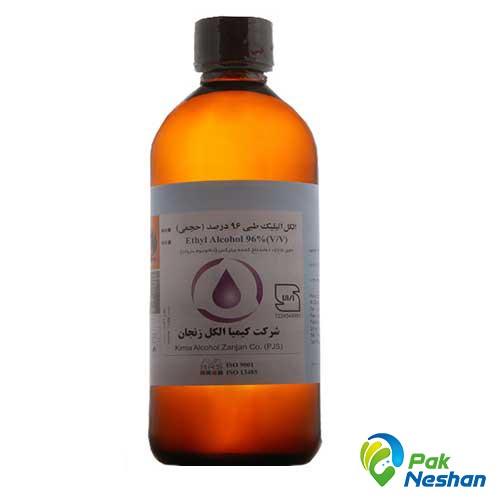 الکل طبی کیمیا الکل زنجان 96 درصد